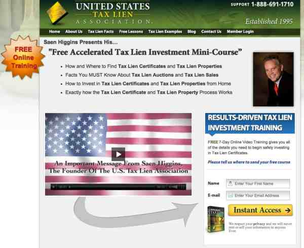 United States Tax Lien Association the New Thing for Wealth Without Risk Saen Higgins