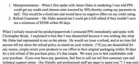 Purchase Power Solutions – Consumer Complaint – November 15, 2012