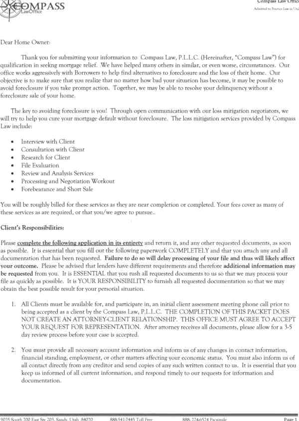 Preferred Law   Consumer Complaint   March 8, 2013