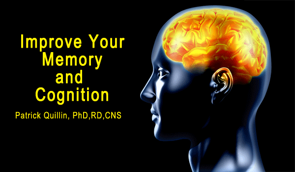Improve your memory and brain function
