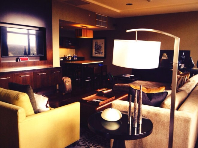Grand Hyatt Denver Presidential Suite