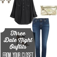 Last Minute Date Night Outfits from Your Closet