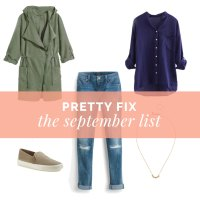 Pretty Fix:  The September List + What is Stylegistix?