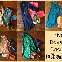 Insta-Style:  Five Days of Casual Fall Outfits