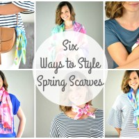 Six Ways to Style Spring Scarves