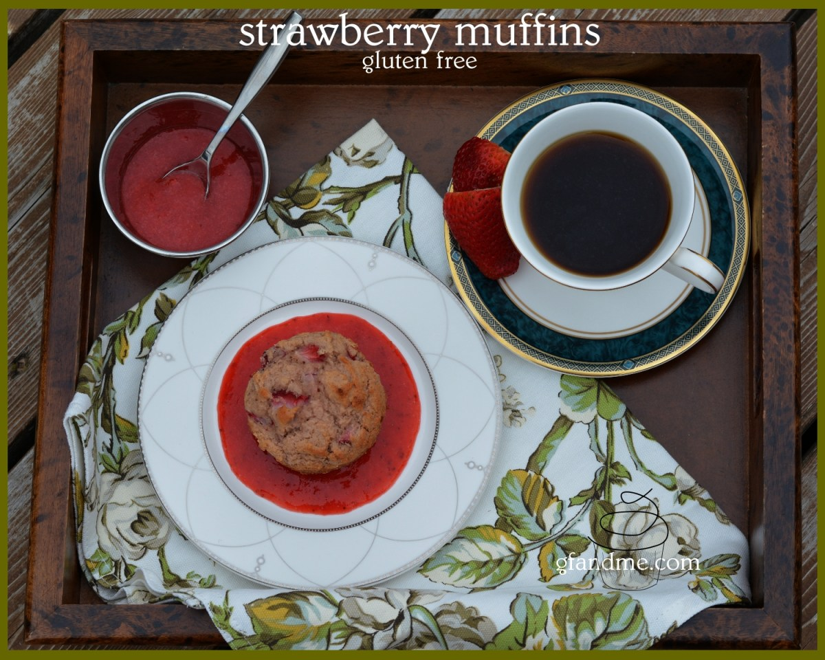 saturday morning strawberry muffins – gluten free