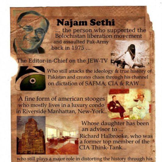 Najam Sethi is pro BLA