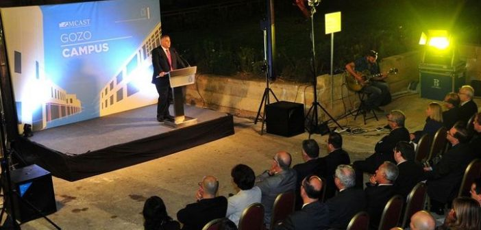 MCAST's new Gozo Campus in Ghajnsielem inaugurated
