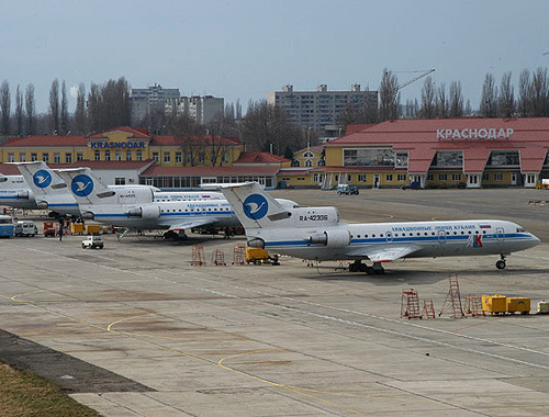 Краснодарский аэропорт Пашковский