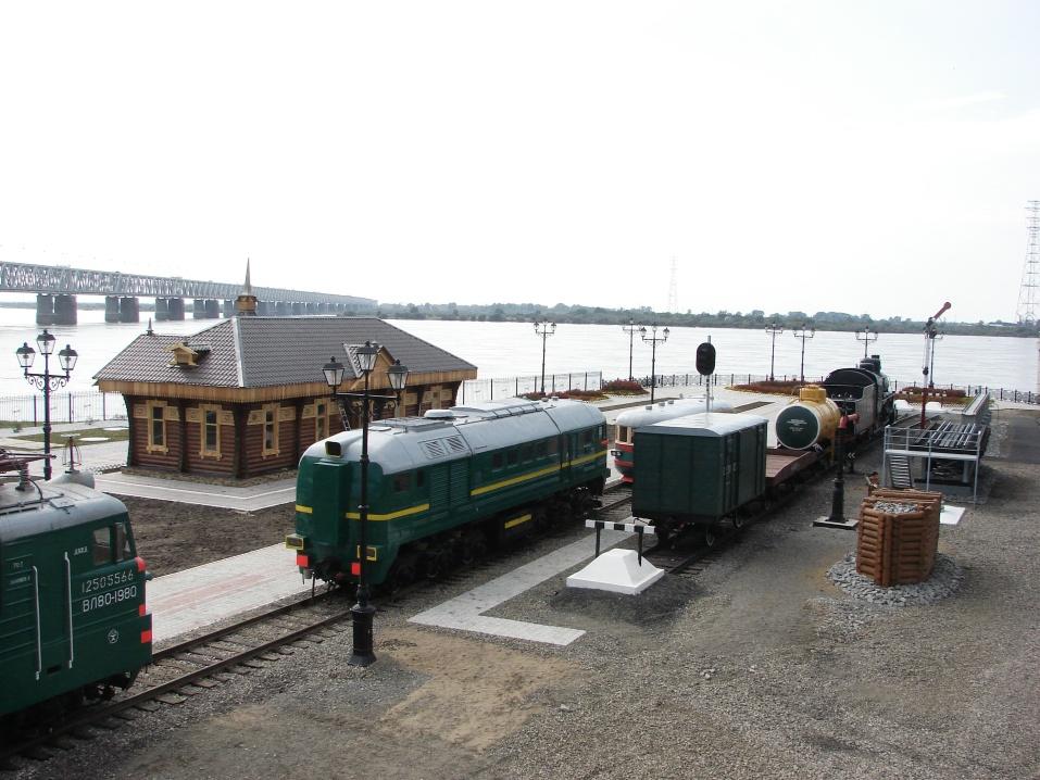 фото хабаровск музей Амурского моста