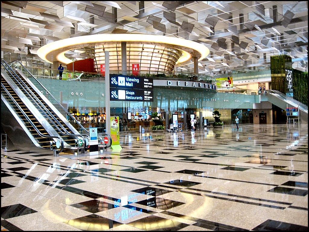 1 Сингапур. Чанги. Международный аэропорт.