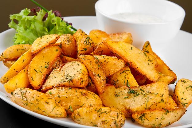 эстонские рецепт запеченной картошки с гарниром-хв3