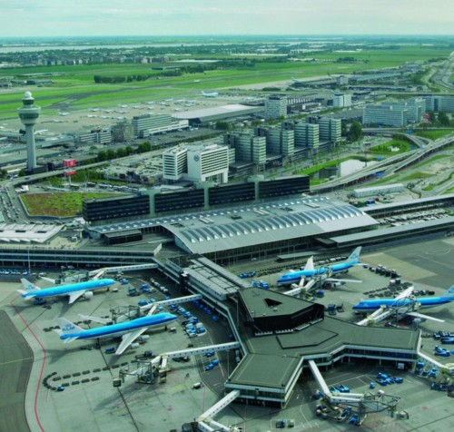 Amsterdam Airport Schiphol.