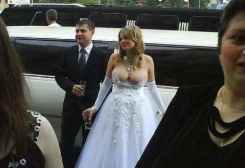 полуголые невесты