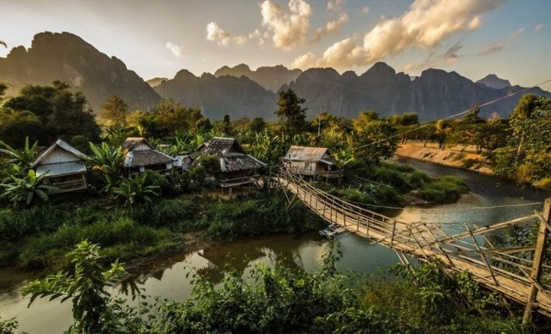 14. Вангвианг, Лаос