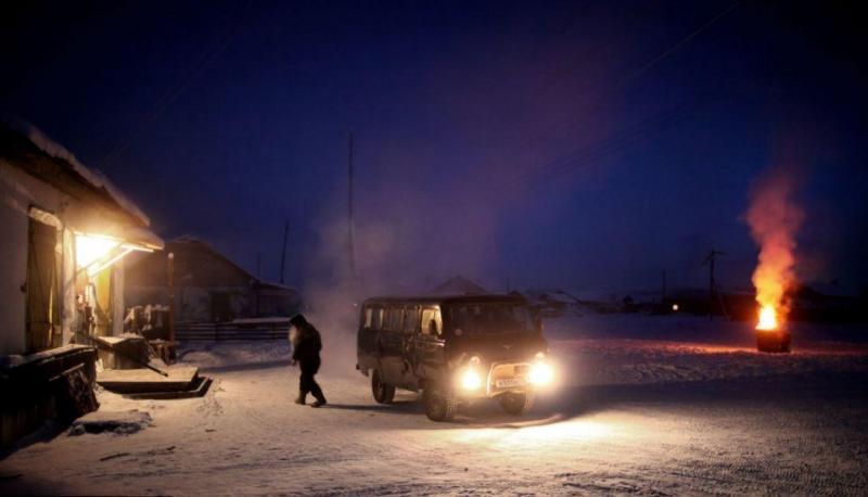 российской деревне Оймякон3