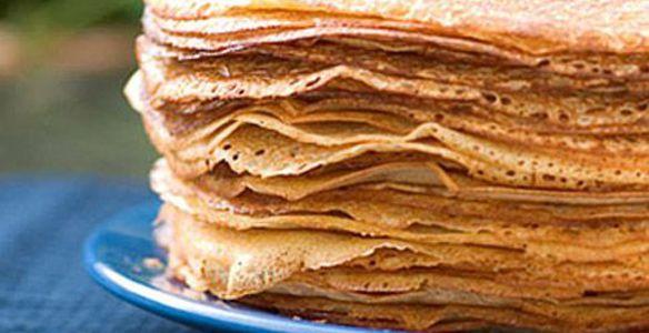 Блины рецепт с фото пошагово