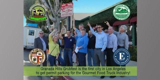 Granada Hills Grubfest Permit Parking Video