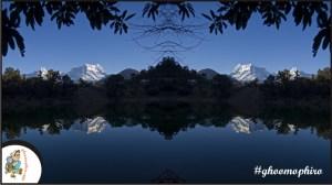 Deoria_Tal_Chandrashila_Chaukamba_reflection