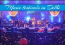 Music festivals in Delhi