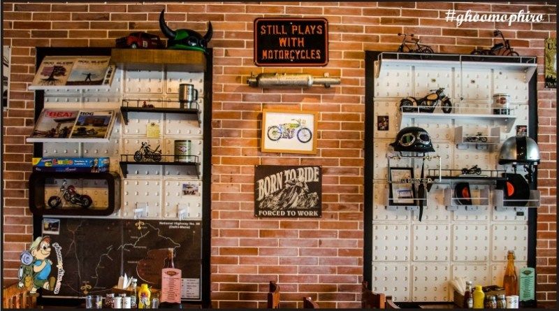 Bikes and great food! It doesn't get better than this at Biker's Cafe