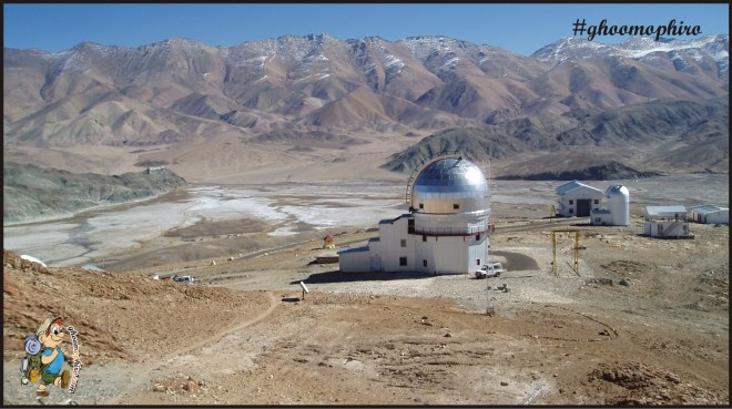 Indian Astronomical Observatory, Hanle