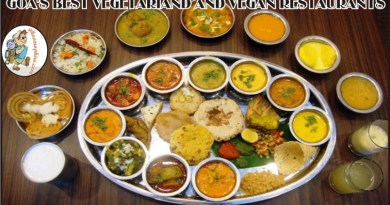 Goa's best vegetarian and Vegan restaurants