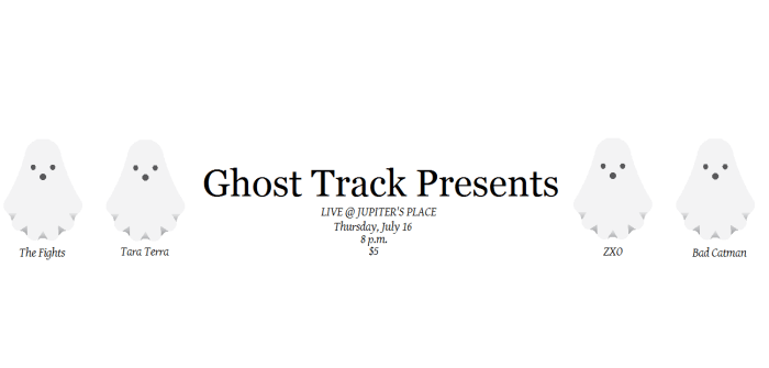 Ghost Track Acoustic Show flyer