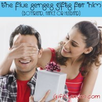 Romantic Five Senses Gifts for Him (Boyfriend, Fiancé or Husband)