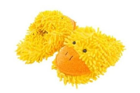 Fuzzy Friend Slippers for Children