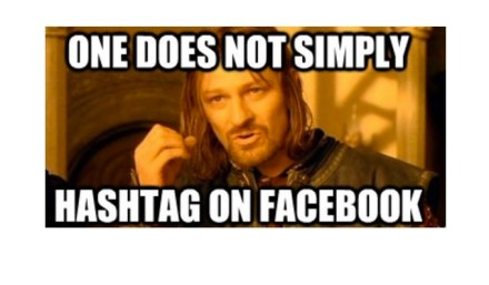 Facebook's #hashtags will be great for marketers (users, not so much)