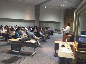 星空環境講演会 ブラザー従業員と一般の市民のみなさん、合計50名弱の方に参加ただき、BCSの会場は満席になりました(^^)/ 参加いただけた皆様、ありがとうございました!