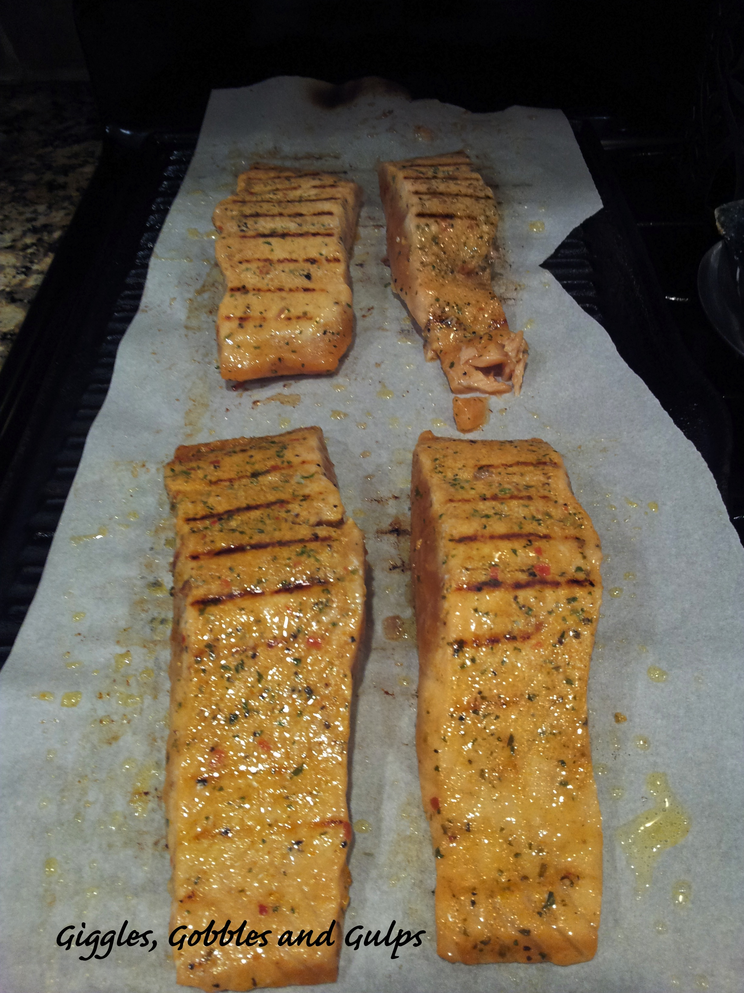 How to grill fish indoors giggles gobbles and gulps for Pan grilled fish