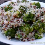 Tri-Color Quinoa and Broccoli