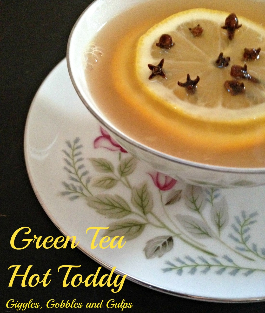 Green Tea Hot Toddy