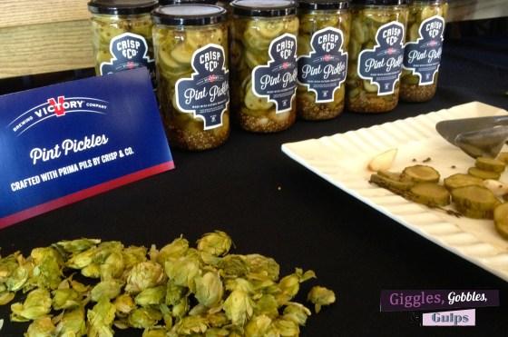 victory beer pickles