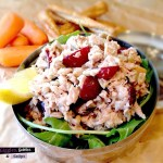 Tuna Salad with Grapes and Sunflower Seeds
