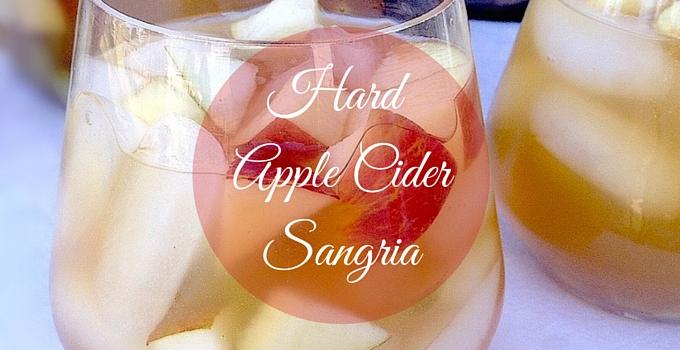 Hard Apple Cider Sangria