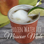 Frozen Water Ice Moscow Mule