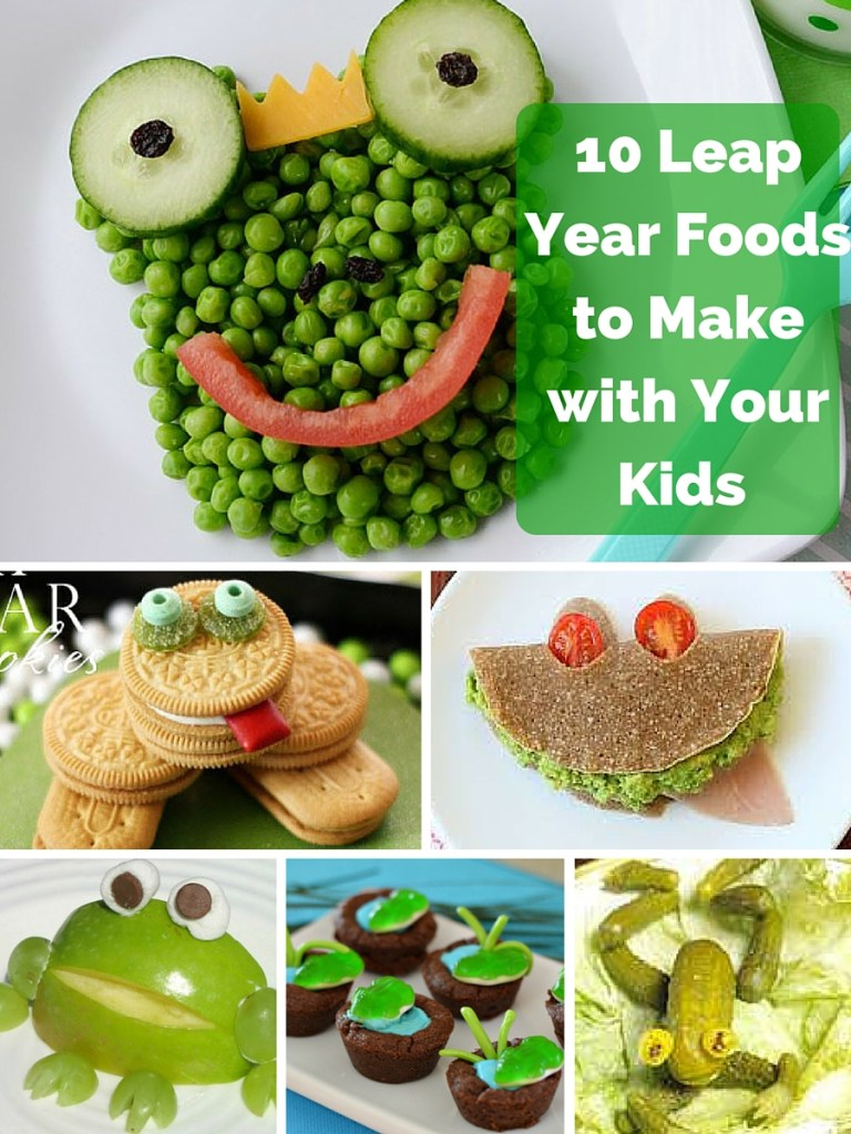 10 Leap Year Foods to Make with Your Kids