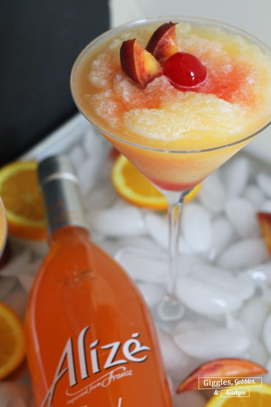 Alizé Peach Cocktail