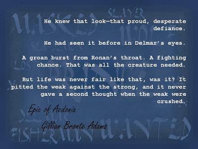 Ronan: A Fighting Chance