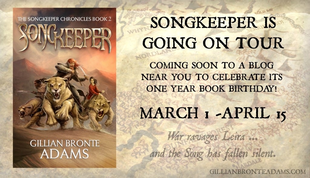 Blog Tour promo - Songkeeper