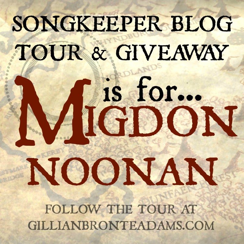 Explore Leira Blog Tour: M is for Migdon