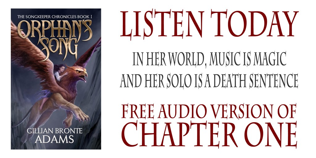 Listen to Chapter One of Orphan's Song!