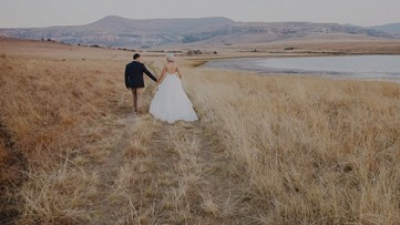 Zach + Adinie | A Clarens wedding story