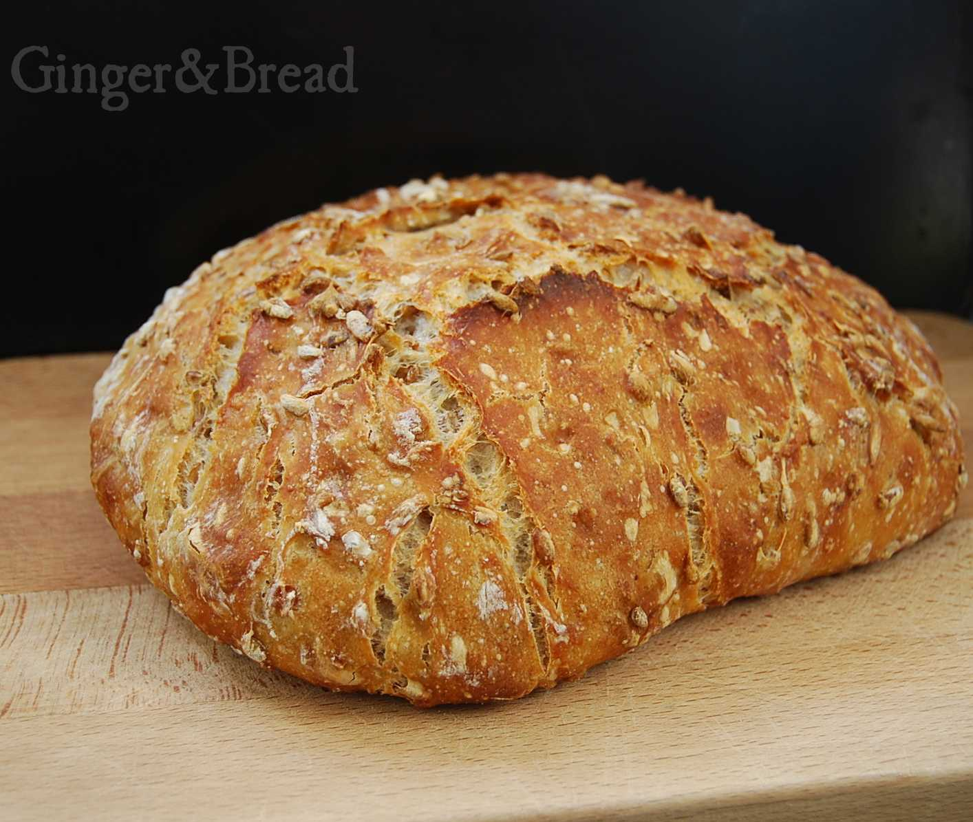 Wheat, Rye and Spelt loaf
