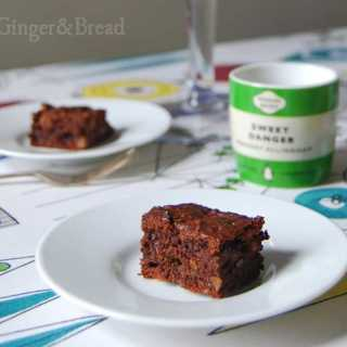 Brownies sweetened with dried fruit