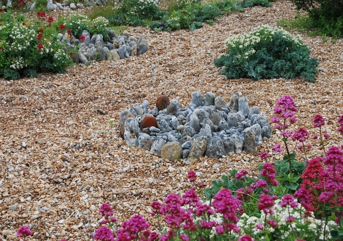 Prospect Garden stone arrangement