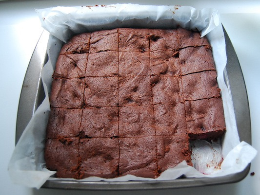 Cherry Chocolate Brownies
